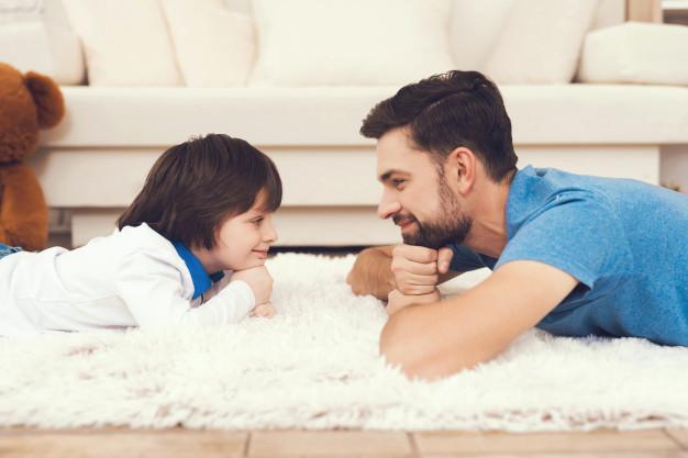 Gánate la confianza de tus hijos